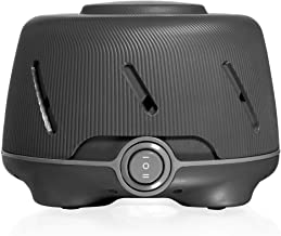 Marpac Dohm (Charcoal) | The Original White Noise Machine | Soothing Natural Sound from a Real Fan | Noise Cancelling | Sleep Therapy, Office Privacy, Travel | For Adults & Baby | 101 Night Trial