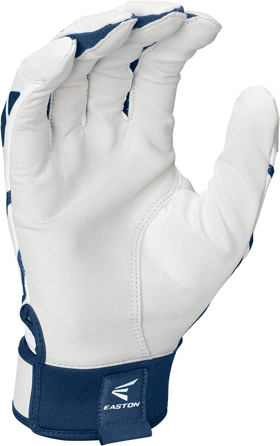 Flexible 4 Way Stretch Mesh Back Baseball Softball Smooth Goatskin Palm Adult and Youth Pair EASTON Gametime Batting Glove Series Extra Durable Synthetic Thumb 2021 Neoprene Strap