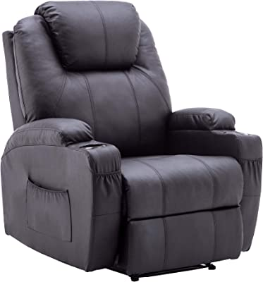 Amazon.com: GHP Black Sturdy Ergonomic Seating Massage ...