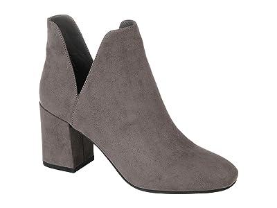 Journee Collection Comfort Foam Gwenn Bootie (Grey) Women
