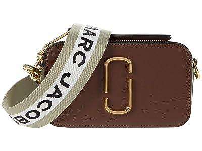 Marc Jacobs Snapshot Crossbody (Classic Brown Multi) Handbags