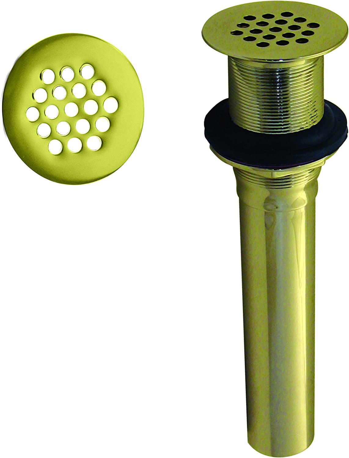 Baltimore Mall Westbrass D411-12-01 Grid Strainer Max 65% OFF Lavatory Overflow Drain H o w