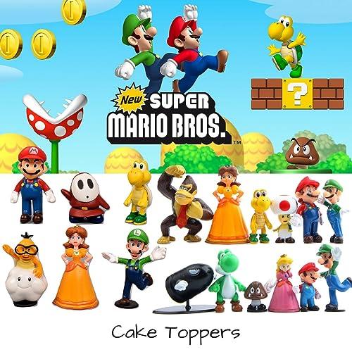 Super Mario Figures Amazon Com