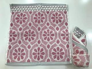 CANNON Daisy Wash Cloth, Tea Rose - 33 x 33 cm