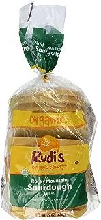 Rudi's Organic Bakery Rocky Mountain Sourdough Bread, 22 oz (Frozen)