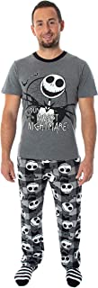 Nightmare Before Christmas Jack Skellington 3 Piece Gift Set Pajama Pants, Shirt, and Cozy Socks