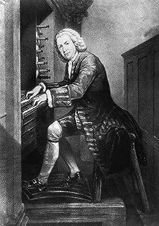 Composer Johann Sebastian Bach. Fine Art Print/Poster. (84.1cm x 59.4cm)