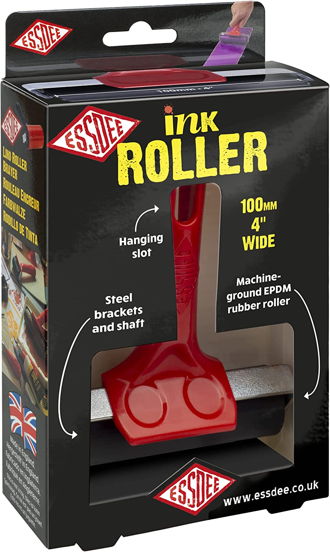 Max 55% OFF ESSDEE Ink Roller 3.94 Inch - Heavy Rubb Hard Shore Choice EPDM 70 Duty