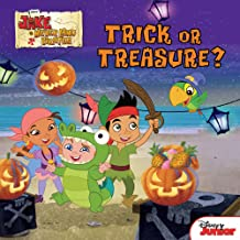 Jake and the Never Land Pirates:  Trick or Treasure?: Stickers Inside! (Disney Storybook (eBook))