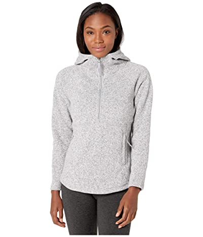 The North Face Crescent Hooded Pullover (TNF Light Grey Heather) Women
