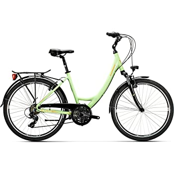 Conor Bicicleta Malibu Mixta Verde WM. Bicicleta para Ciudad Dos ...