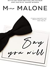 Say You Will (The Simmons Book 3)
