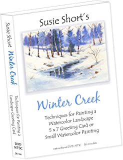 Winter Creek - Techniques for Painting a Watercolor Greeting Card with Susie Short