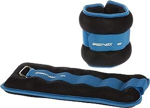 SportVida Gewichtsmanchetten voor pols- en enkelgewrichten, set van 2 stuks, 1,5 kg, 2 kg loopgewichten, gewichtsmanchet