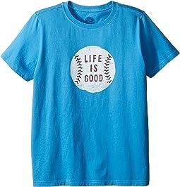 Life is Good Kids - Baseball Tee (Little Kids/Big Kids)