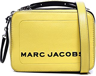 Marc Jacobs Women's The Box 20 Pebbled Leather Bag Green