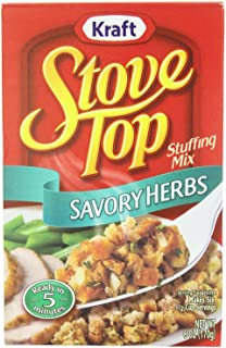 Stove Top Savory Herb Stuffing Mix (Pack of 3) 6 oz Boxes