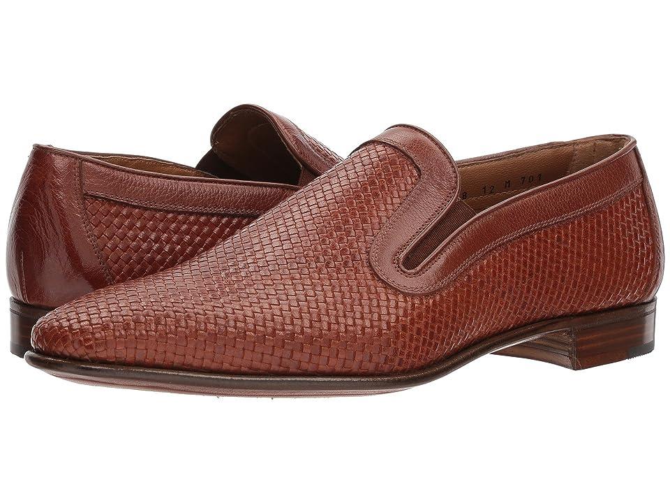 Gravati Woven Loafer (Cognac) Men