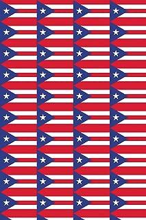 Puerto Rico Flag Heat Transfer Vinyl for T-Shirt Sleeve Sports Silhouette HTV for Clothing - Free Bonus Transfer Mask Included Premium Heat Transfer Vinyl