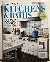 Traditional Home Beautiful Kitchens & Baths Magazine + FREE GIFT Storage Solutions 2019 (92)