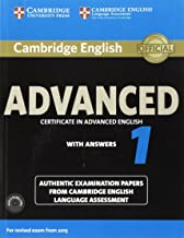 Cambridge English Advanced 1 for Revised Exam from 2015 Student's Book Pack (Student's Book with Answers and Audio CDs (2)): Authentic Examination ... Language Assessment (CAE Practice Tests)
