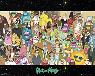 Rick and Morty Parasites (Total Rickall) TV Poster (16 x 20 inches)