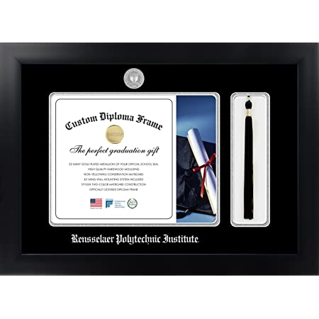 Celebration Frames Infinity Diploma Frame Black