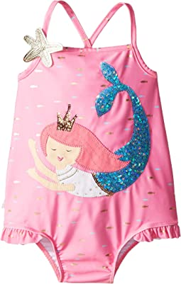 Mermaid One-Piece Swimsuit (Toddler)