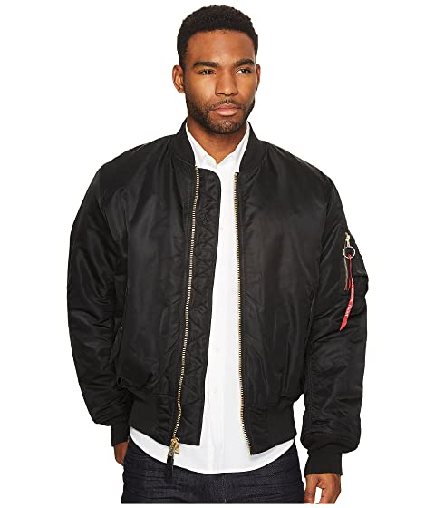 Alpha Industries Alpha MA-1 Flight Jacket at Zappos.com 04d4c3fab23