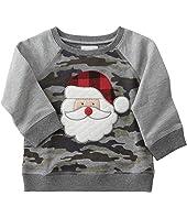 Mud Pie - Camo Santa Sweatshirt (Infant/Toddler)