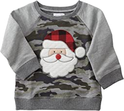 Mud Pie - Camo Santa Sweatshirt (Infant/Toddler)