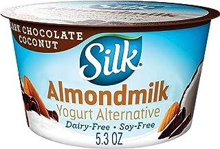 Silk Almondmilk Yogurt Alternative, Dark Chocolate Coconut, Vegan, 5.3 oz
