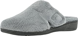 Vionic Women's Gemma Mule Slipper - Comfortable Spa House Slippers that include Three-Zone Comfort with Orthotic Insole Ar...