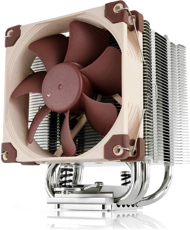 Noctua NH-U9S, Disipador de CPU de 92 mm y una Torre y Máxima Calidad (Marrón)