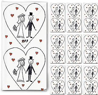 , 10 Paquetes de pañuelos de Papel 100=Matrimonio -