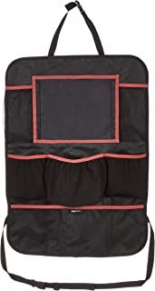 AmazonBasics Car Seat Back Protector with Organizer