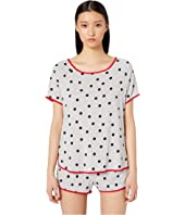 Kate Spade New York - Jersey Knit Short Pajama Set