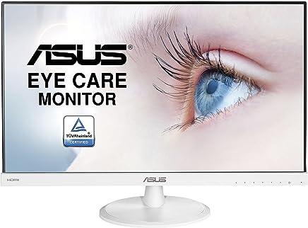 "ASUS VC239HE-W - Monitor Full HD de 23"" (1920 x 1080 píxeles, IPS, 16:9, sin Marco, Flicker Free, HDMI, 5 ms), Color Blanco"