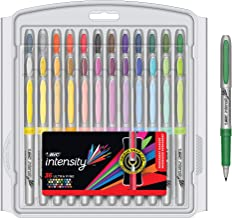 BIC Intensity Fashion Permanent Markers, Ultra Fine Point, Assorted Colors, 36-Count (Packaging May Vary)