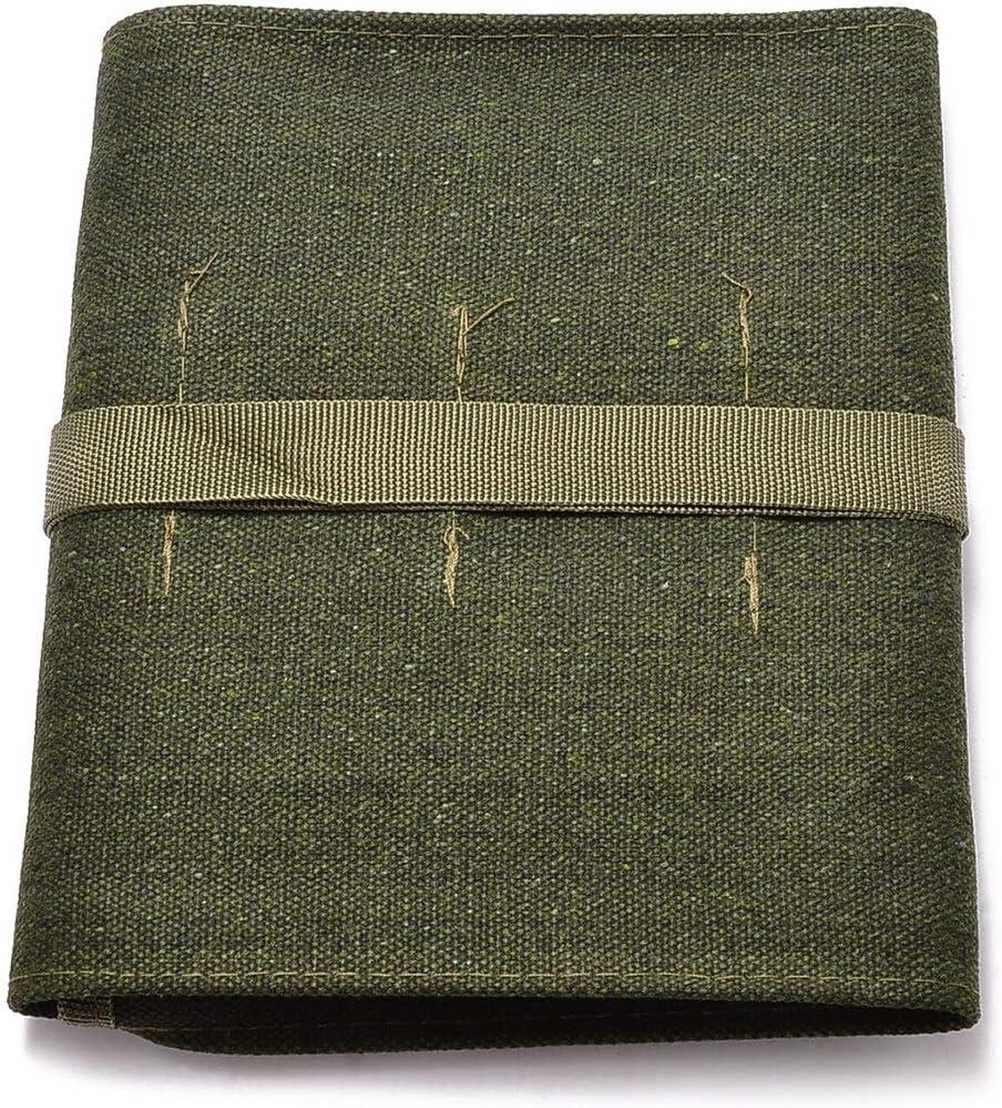 MosiShop 1pcs Green Japanese Bonsai Storage Package Roll Bag Can