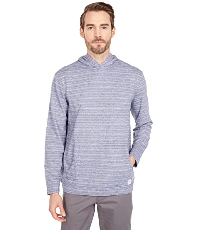 Linksoul Textured Pullover with Hoodie (Deep Lake) Men