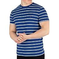 Tommy Hilfiger Men's Stretch Slim Fit T-Shirt, Blue