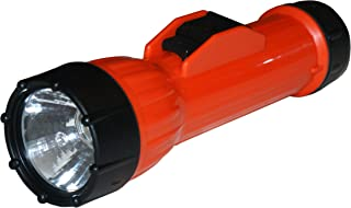 Bright Star 2124 3D Cell Incandescent Flashlight – Unbreakable, Water Resistant Emergency Light for Hazardous Environment. Industrial LED Torch