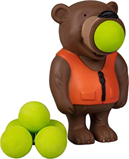 Hog Wild Bear Popper Toy - Shoot Foam Balls Up to 20 Feet - 6 Balls Included - Age 4+