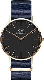 Daniel Wellington Classic Bayswater Watch, Blue NATO Band