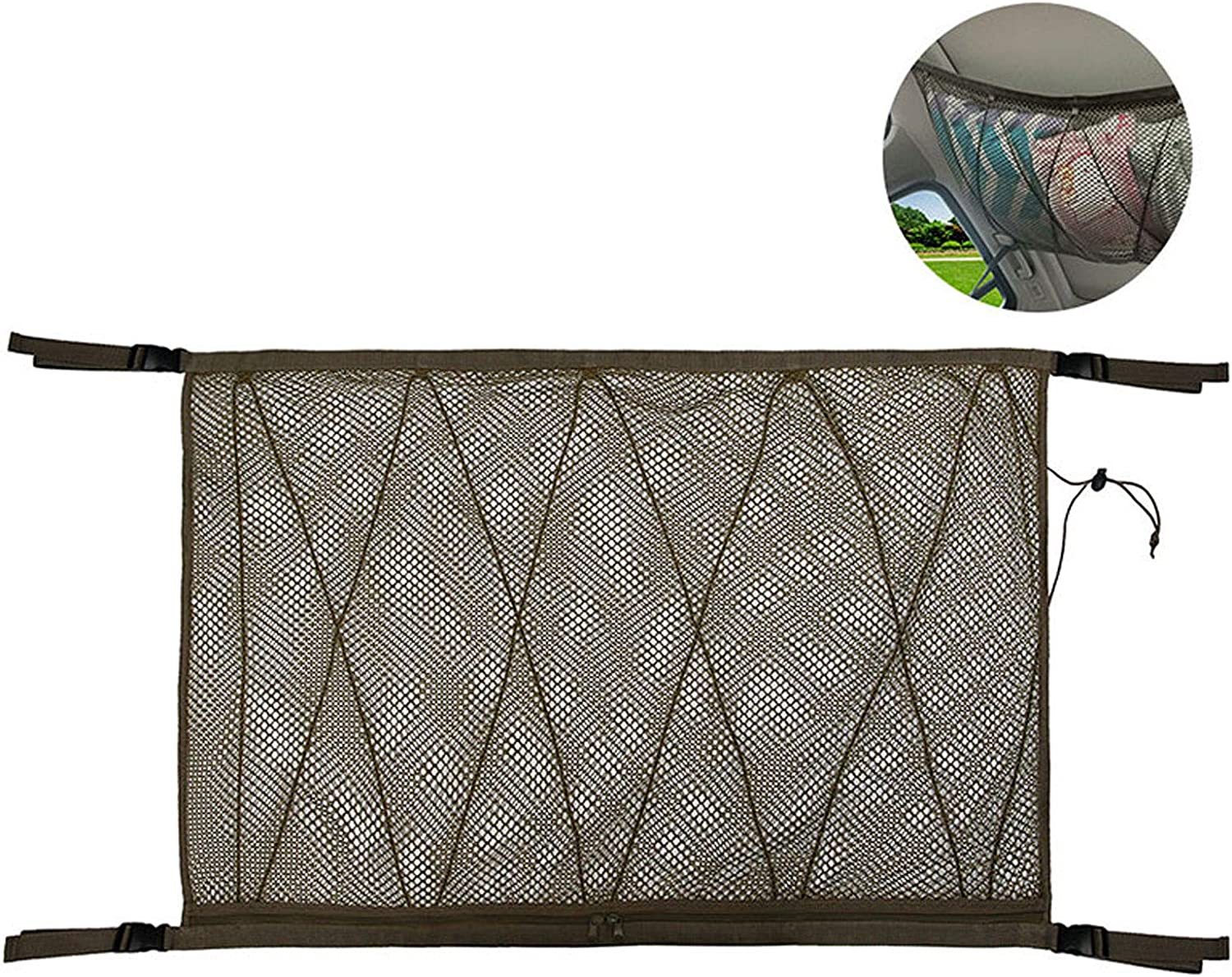 Haiabei Car Outlet sale feature Now on sale Ceiling Storage Pocket Interior Net