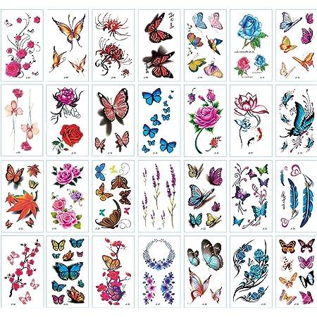 Motive schmetterlinge sterne tattoo blumen Blumen
