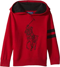 Big Pony Merino Wool Hoodie (Toddler)