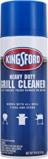 Kingsford Heavy Duty Spray-On Grill Cleaner | Cuts Through Grease and Grime | Makes Grill Cleaning Effortless, Great for G...