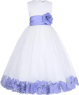 eb09927032859 GRACE KARIN Fille Enfant Robe Mariage Demoiselle Robe 3~4 Ans FR8936-7